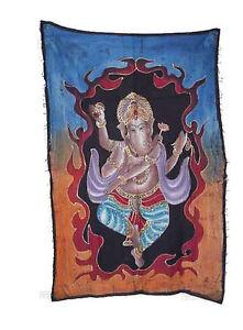 Batik Lord Ganesh Elefante 115x 74cm Artigianato India Peterandclo 5038