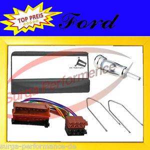Ford fiesta focus escort puma radio diafragma radio adaptador ISO adaptador Radio Set