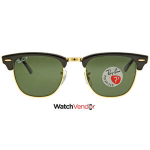Ray-Ban-Clubmaster-Classic-Green-Classic-G-15-Sunglasses-RB3016-901-58-49