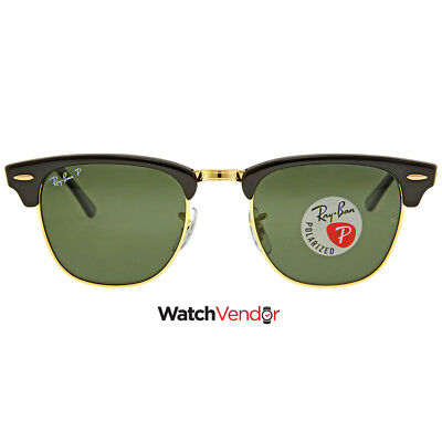 Ray Ban Clubmaster Classic Green Classic G-15 Sunglasses RB3016 901/58 49