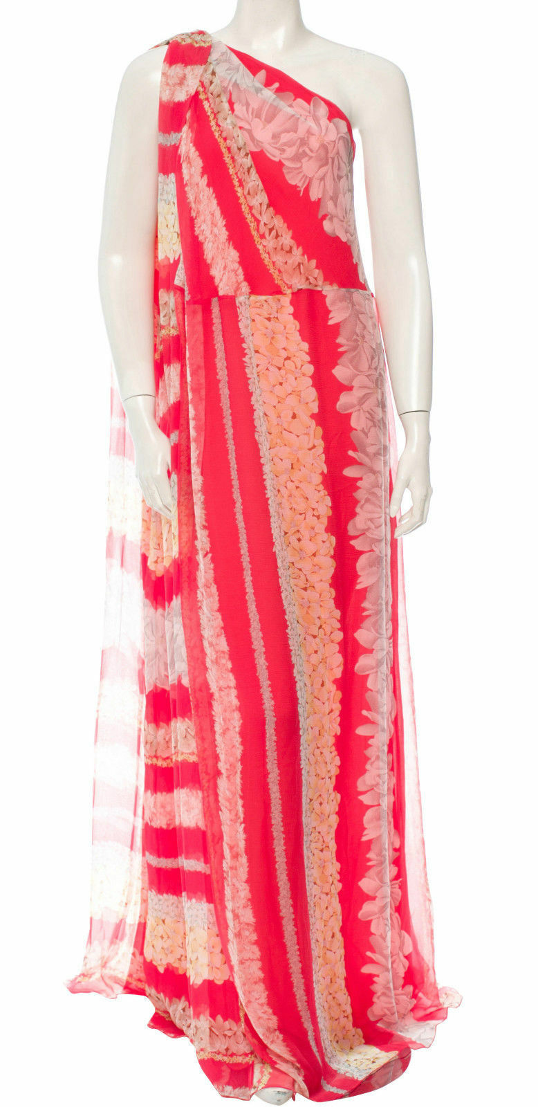 3573f39177ba6 MISSONI Floral Grecian Maxi Dress SZ 42 = = = US 6 NWOT RT 3.8K b313d0