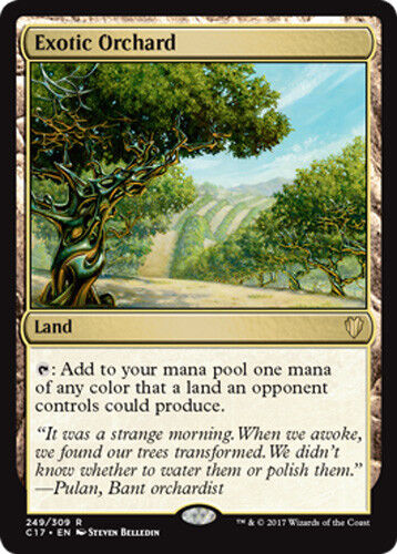 exotiques Verger Exotic Orchard Commander 2017 Magic