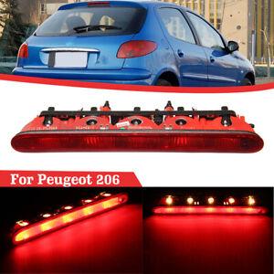 Niveau-Troisieme-Feux-Freinage-Arriere-Stop-Ampoule-pour-Peugeot-206-6350K5