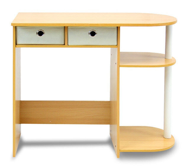 Computer Desk For Small Es Wood Home Office Furniture Table Workstation Ebay