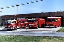 Vintage White Motor Company Chassised Fire Apparatus 1920s-1980s 160 Photos