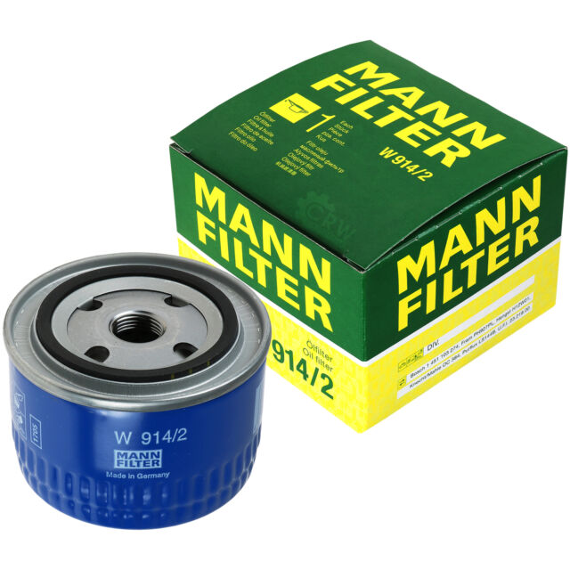 Original MANN-FILTER Ölfilter Oelfilter W 914/2 Oil Filter