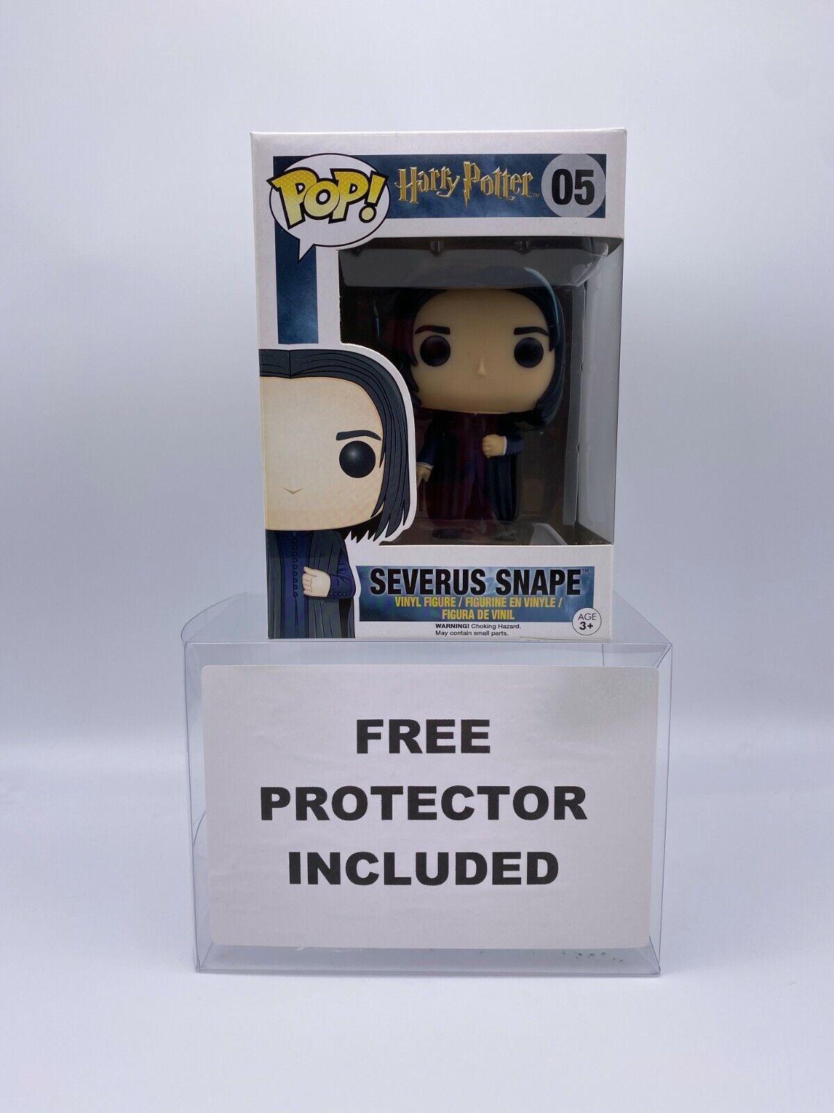 Funko Pop Severus Snape #05 Harry Potter Collectible Vinyl Figure w/ Protector