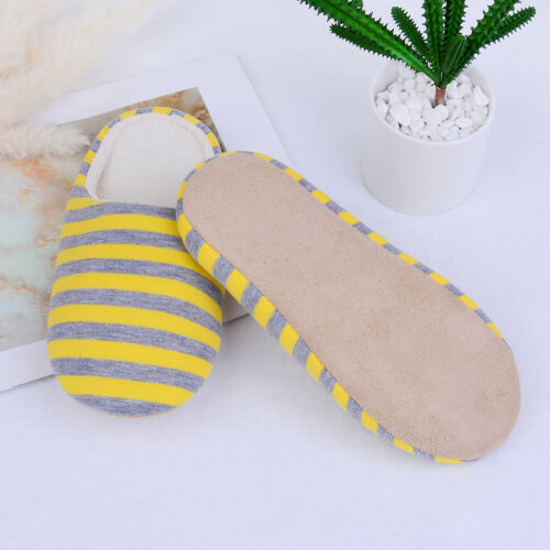reputable site c7669 17f0d slip Slipper Home Anti Cotton Women Slippers Shoes Pair Men 1 Indoor warm  Winter BtxYqPUa