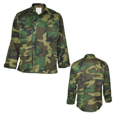 US BDU Feldjacke Woodland Neu Original Army