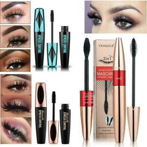 4D-Silk-Fibre-Mascara-Eyelash-Extension-Volume-Waterproof-Long-Lasting-Make-Up