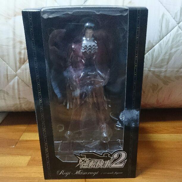 Ace Attorney 2 Miles Edgeworth Benjamin Hunter PVC Figure e-Capcom limited RARE