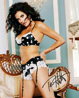 Teri Hatcher Sexy Lois And Clark Actress Hand Signed Autographed