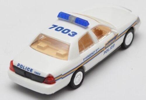Cop car Collection Ford Crown Victoria Police policía automóviles modelos de coche 1:87