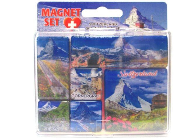 Zermatt Matterhorn Foto Magnet Souvenir Schweiz Switzerland 012