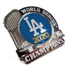 2020 MLB World Series Champions Trophy Pin Los Angeles Dodgers