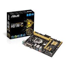 Asus H81M-C LGA 1150 Micro ATX Intel Motherboard