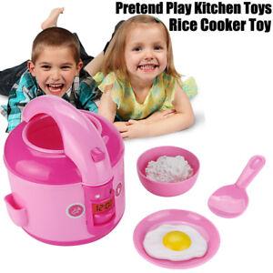 elektrischen-Reiskocher-vorgeben-Spielkueche-Spielzeug-Geraet-Spielzeug-fuer-Kind-E