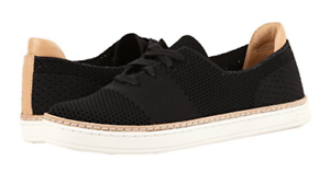 UGG-Australia-Sammy-Black-Sneaker-Shoe-Women-039-s-U-S-sizes-5-5-5-6-NEW