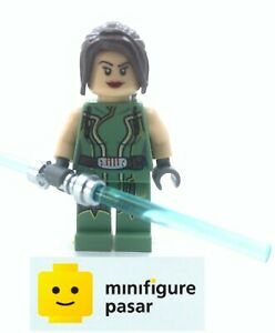 sw389 Lego Star Wars 9497 - Satele Shan Minifigure with Lightsaber - Used