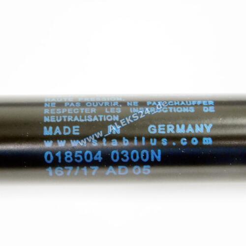 1x Original Stabilus Gasfeder LIFT-O-MAT Motorhaube VW Passat 3B 018504