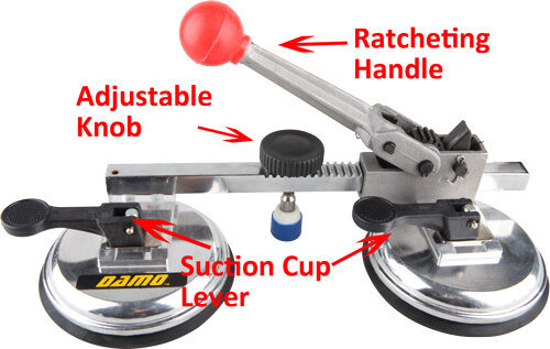 "DAMO 4-1//2/"" Ratchet Seam Setter for Seam Joining /& Leveling of Tiles//Stone slabs"