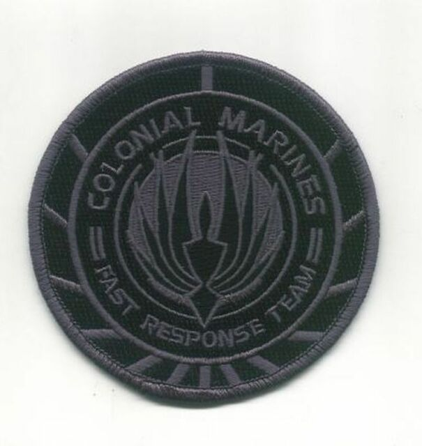BSG Colonial Marines Fast Response Team Patch