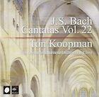 J.S. Bach: Cantatas, Vol. 22 (CD, Oct-2006, 3 Discs, Challenge Records)