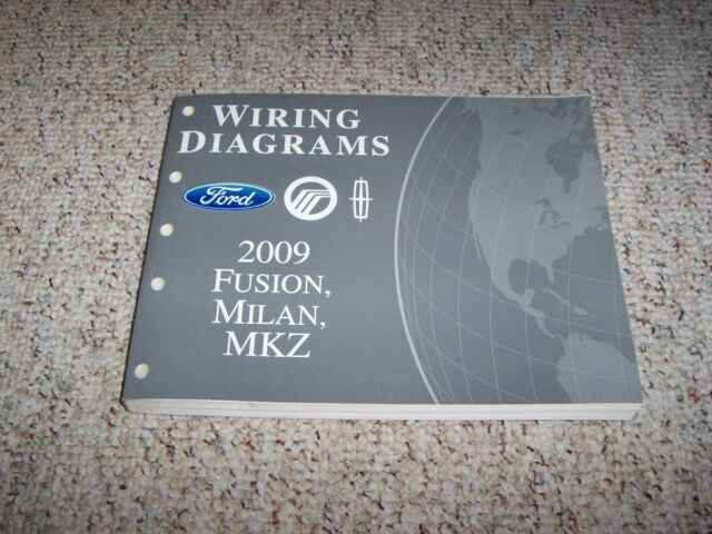 2009 Mercury Milan Electrical Wiring Diagram Manual I4