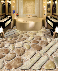 3D Simple Piedra Papel de parojo de la ruta 89 Piso Impresión De Parojo Murales AJ Wallpaper Reino Unido Lemo