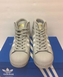 Adidas Originali (Modello Uomo Numero 9 Grigio Bianco Su Ebay