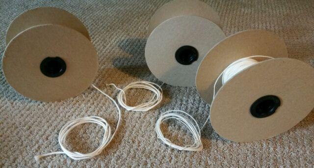 Cotton ZINC CORE Wick  36-24-24,  51-32-18,  60-44-18,  34-40,  36-24,  44-24-18