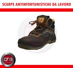 SCARPE ANTINFORTUNISTICHE DA LAVORO ALTA BEAR  GRIP  BELFAST