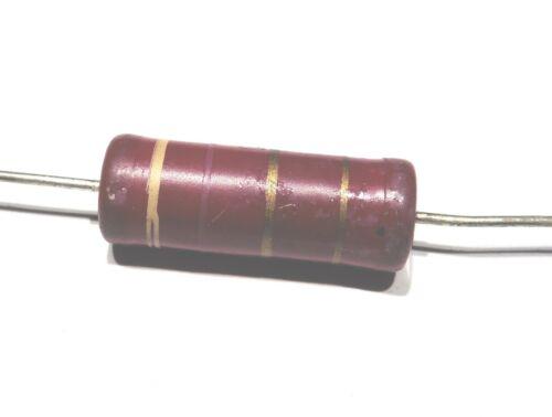 5 x Resistance couche carbone 2W 5/% 120R 120ohm 120 ohm                RC2120R//2