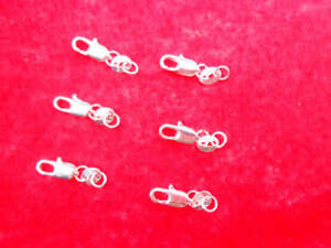 20PCS-Jewelry-Connector-925-Sterling-Silver-Lobster-Clasps-925-Stamped-Tag-Sell