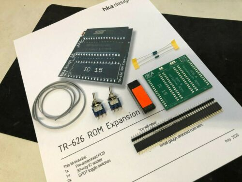 Roland TR-626 ROM expansion COMPLETE KIT by HKA design