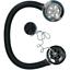 "38mm 1-1//2/"" Chrome Bath Waste Drain /& Overflow with Rubber Plug /& Chain"