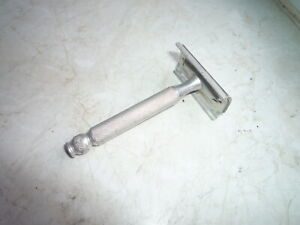GILETTE-Rasierhobel-Finest-DE-shaving-Vintage-Safety-Razor