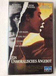 Ein unmoralisches Angebot - Robert Redford / Demi Moore - VHS - Rödental, Deutschland - Ein unmoralisches Angebot - Robert Redford / Demi Moore - VHS - Rödental, Deutschland