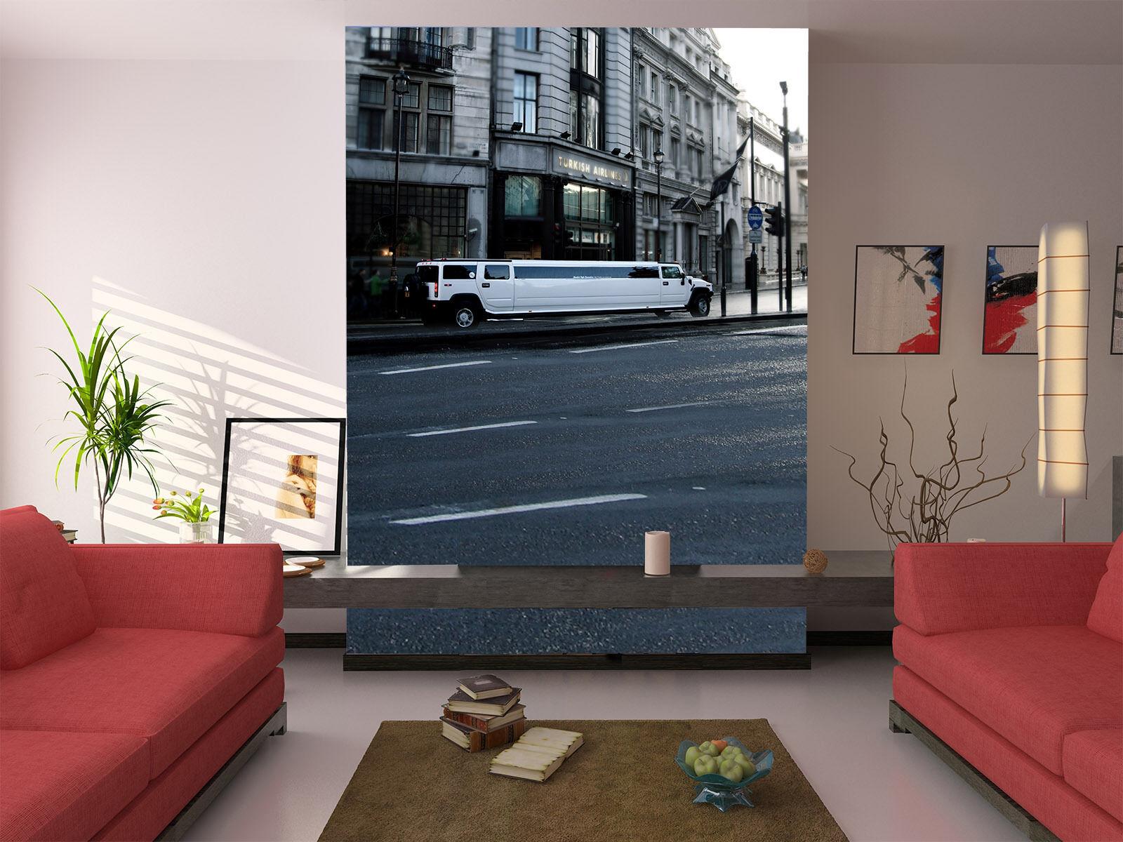 3D High Rise Car Road Paper Wall Print Wall Decal Wall Deco Indoor Murals