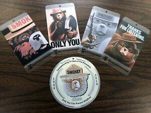 Smokey-Bear-75th-Birthday-Limited-Edition-Trail-Marker-amp-Bookmark-Set