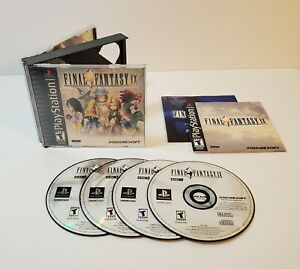 Final-Fantasy-IX-Sony-PlayStation-1-2000-PS1-Black-Label-BL-CIB-Complete