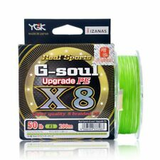 YGK G-Soul X4 Upgrade PE Green 150m Braided line Made in Japan
