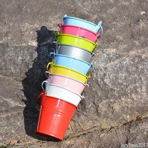 12pcs-Mini-Metal-Bucket-Wedding-Candy-Flower-Favors-Buckets-Party-Colorful-SERT