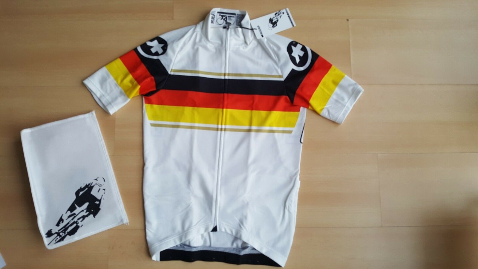 ASSOS SS.neoPro Cycling Jersey Germany Deutschland Colours Men's Size S