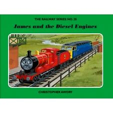 SIGNED The Railway Series No.28 James and the Diesel Engines  Christopher Awdry
