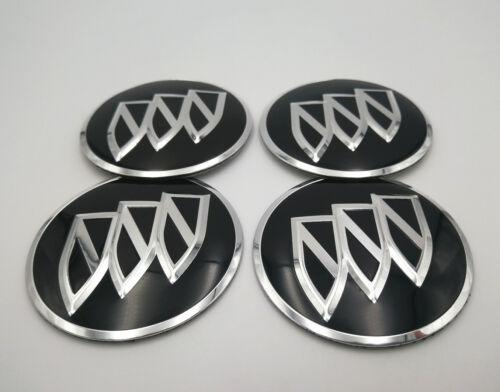 4pcs 56mm Chrome Wheels Center Cap Emblem Badge Alloy Decal Sticker For Buick