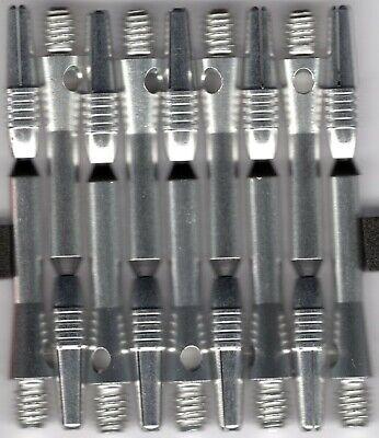 2in 2ba Blue Fluted Aluminum Dart Shafts 3 per order
