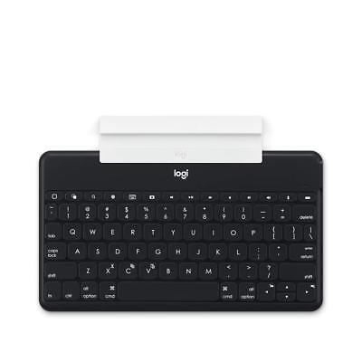 Logitech Keys To Go Uk Qwerty Bluetooth Keyboard Black For Ipad Iphone Appletv Bevordering Van Gezondheid En Genezen Van Ziekten