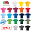 3-Pack-Fruit-Of-The-Loom-KIDS-T-SHIRT-TEE-CHILDREN-BOYS-GIRLS-SCHOOL-PE-ALL-AGES thumbnail 1