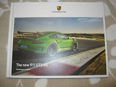 2019 Porsche 911 GT3 RS Hardcover Brochure